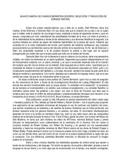 Letras en Línea - Blanco inmóvil de Charles