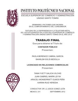 CP2012 C343p - Instituto Politécnico Nacional