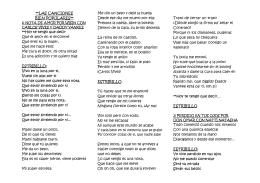 Las Canciones Bien Populares del 2015 Lyrics
