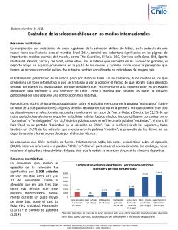 Escándalo de la selección chilena (noviembre 2011)