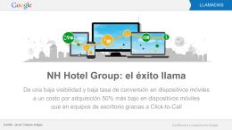 NH Hotel Group: el éxito llama
