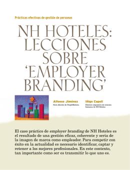 NH Hoteles, lecciones sobre Employer Branding