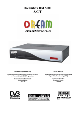 Dreambox DM 500+ S/C/T