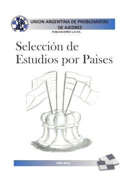 volumen i - Unión Argentina de Problemistas de Ajedrez