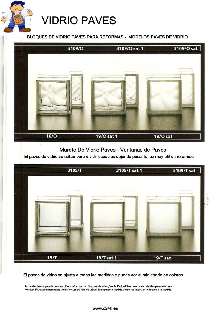 Bloque vidrio paves modelos - Paves vidrio ...