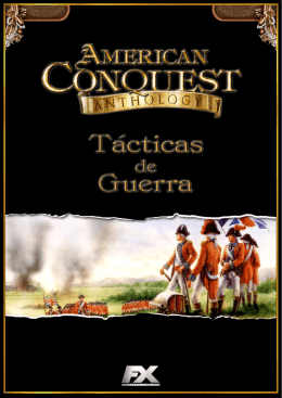 Tácticas de guerra.  Ya disponible.