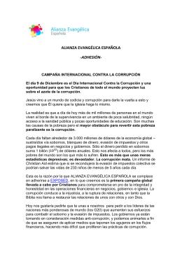 Descarga PDF - Alianza Evangélica Española