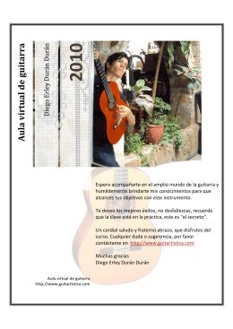 Presentacion curso Guitarra DVD