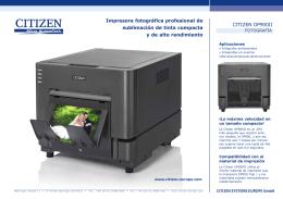 Impresora fotográfica profesional de sublimación