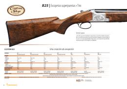 B25 | Escopetas superpuestas • Tiro