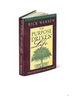 Una vida con propósito - Libro PDF
