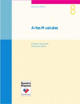 Artes Musicales - Currículum en línea