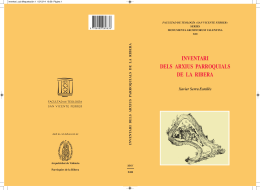de La Ribera, 2014, 320 pàgs. Autor