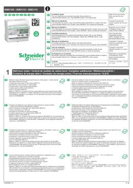 iEM3100 / iEM3110 / iEM3115 - Schneider Electric CZ, s.r.o.