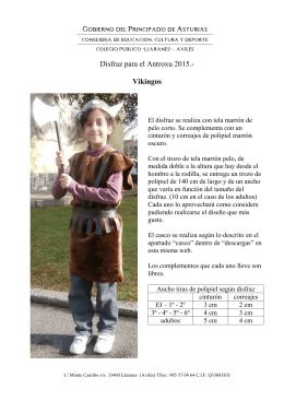 disfraz 2015 - Educastur Hospedaje Web