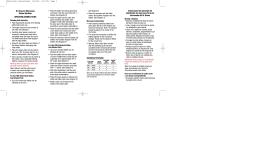 Sterilizer Instructions - biberoanele Dr. Brown`s