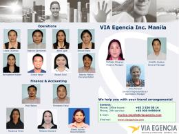 VIA Egencia Inc. Manila