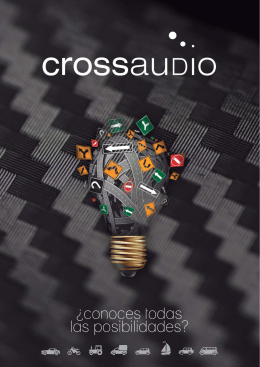 catálogo PDF - crossaudio. Equipamiento para vehículos