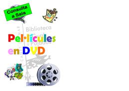 Guia DVD Infantil juny 2012 - Ajuntament de Canet de Mar