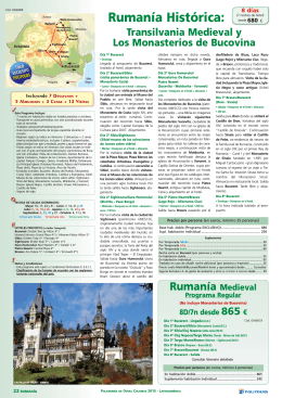 Rumanía Histórica
