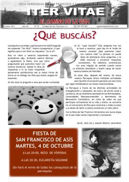 Nº 75 octubre 2011 - Diócesis de Córdoba