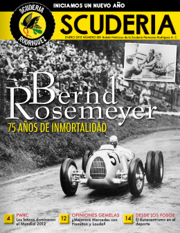 2013.01.01 Boletin No.81 - Scuderia Hermanos Rodríguez