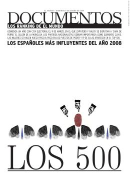 LOS ESPAÑOLES MÁS INFLUYENTES DEL AÑO 2008