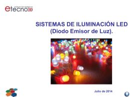 SISTEMAS DE ILUMINACIÓN LED (Diodo Emisor de Luz).