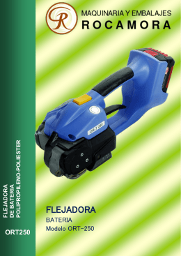 FLEJADORA - Maquinaria