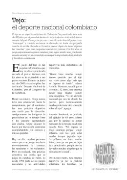 Tejo: el deporte nacional colombiano
