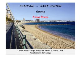 CALONGE – SANT ANTONI Girona Costa Brava
