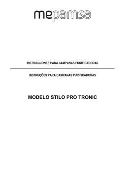 MODELO STILO PRO TRONIC