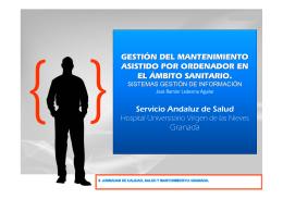 GMAO: Gestión del Mantenimiento Asistido por Ordenador
