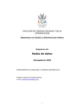 Configuración de Firefox - Manuel Fernandez Barcell