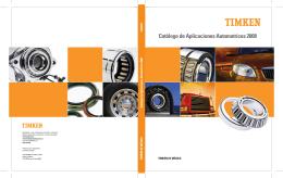 Catálogo de Aplicaciones Automotrices 2008