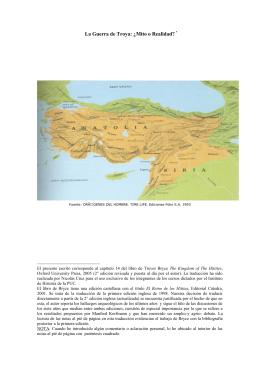 La Guerra de Troya: ¿ Mito o Realidad