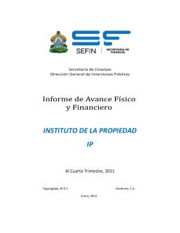 INSTITUTO DE LA PROPIEDAD IP