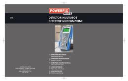 detector multiusos detector mutifunzione