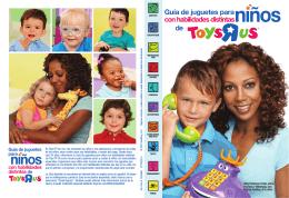 Guía de juguetes para con habilidades distintas de