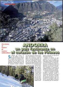 """Dos maneras de ver Andorra.""""Un país fascinante""""."""