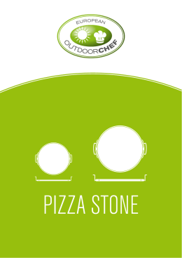 PIZZA STONE - Outdoorchef