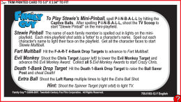 To Play Stewie`s Mini-Pinball Stewie Pinball Fart Multiball Evil