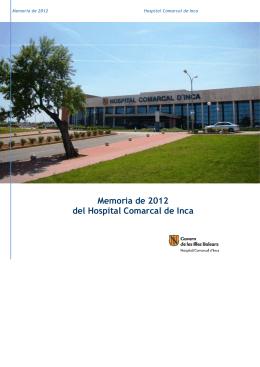 MEMORIA HCIN 2012 CAST - IB