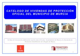 catálogo de viviendas de protección oficial