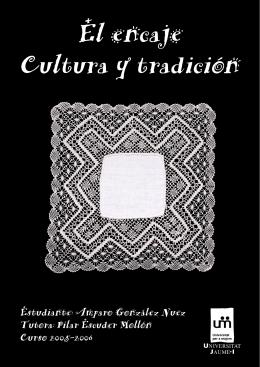 PDF Encaje, Cultura y Tradición