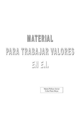 MATERIAL PARA TRABAJAR VALORES TAMAÑO