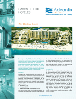 Caso de Exito | Ritz Carlton Hotel, Aruba | Advantix Systems