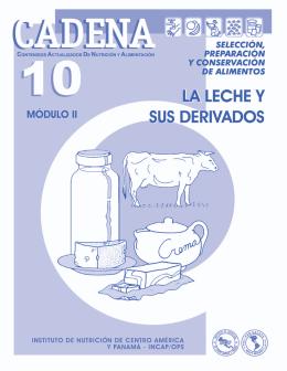 CADENA 10 La Leche y sus Derivados