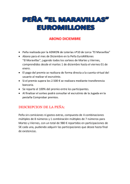 PEÑA EUROMILLONES
