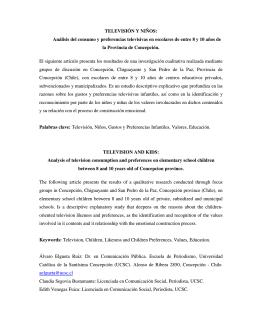 Television_y_ninos_e.. - Red Infancia & Comunicación